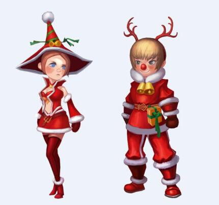 活动一:圣诞狂欢惊喜多